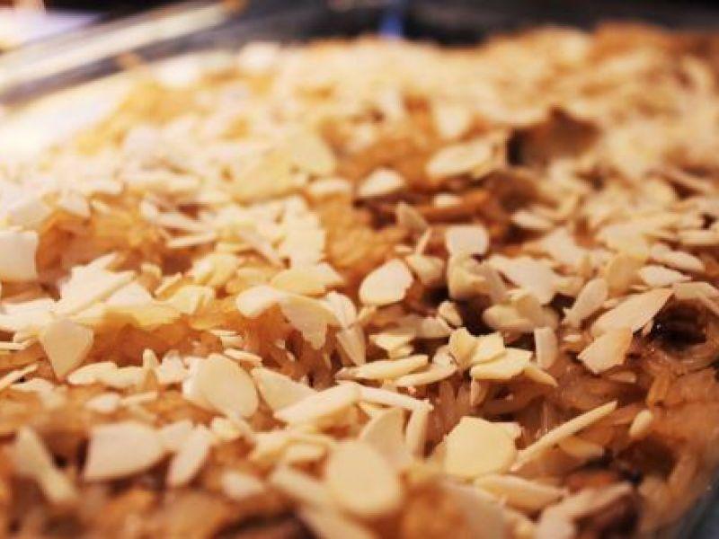 Reis-Champignons-Pfanne