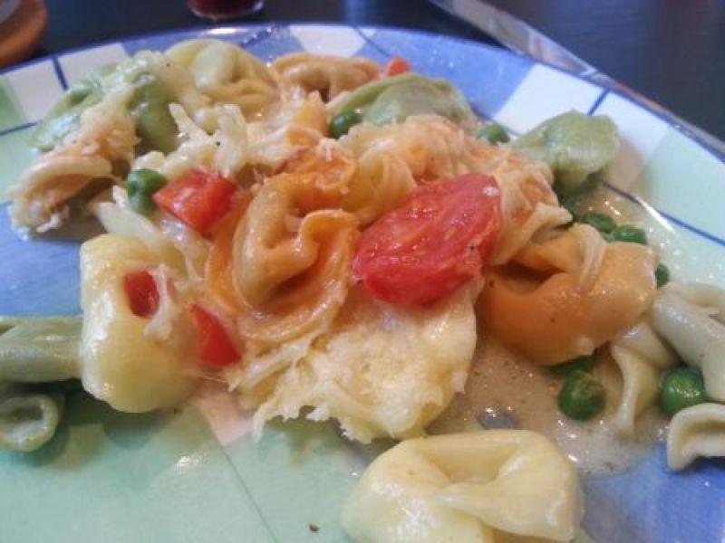 Tortellini-Gemüse-Gratin
