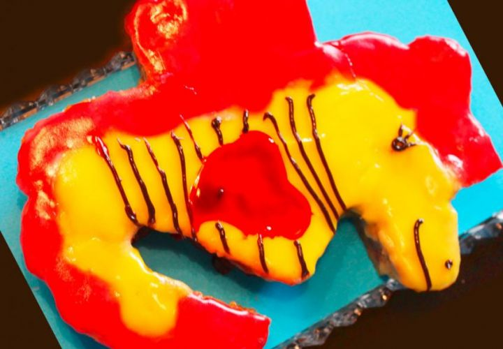 Seepferdchen Kuchen
