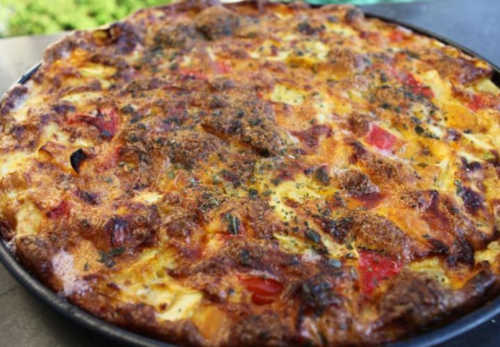 Gemüse-Quiche mit Zucchini