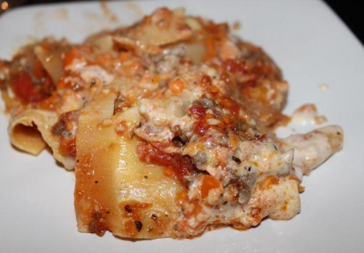 Karotten Zucchini Lasagne
