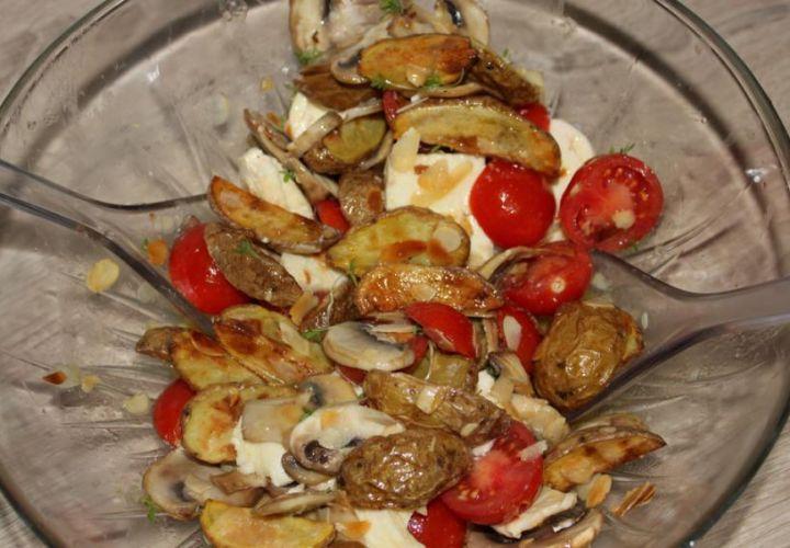 Frühlingssalat mit Babykartoffeln