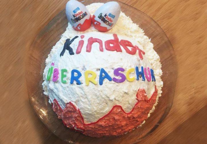 Kinder-Überraschungsei Torte