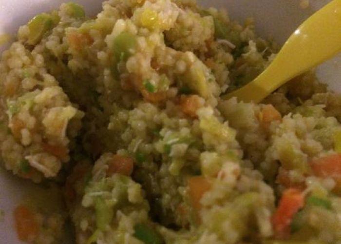 Couscous mit Poulet und Gemüse