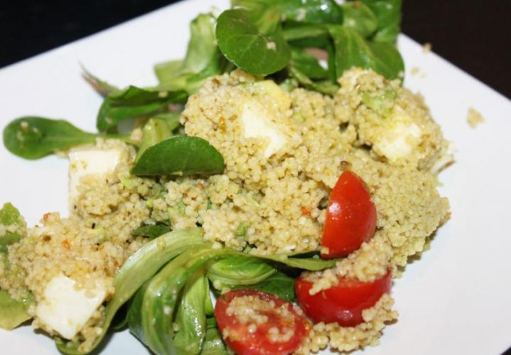 Couscous-Avocadosalat