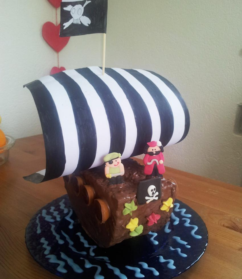 rezept piratenschiff kuchen. Black Bedroom Furniture Sets. Home Design Ideas