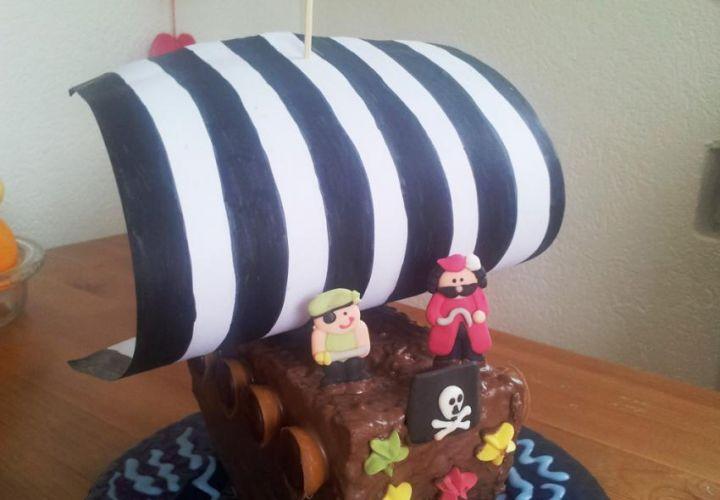 Rezept Piratenschiff Kuchen Kinderrezepte De
