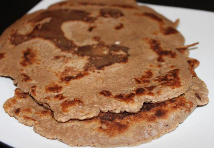 Kastanienmehl Pfannkuchen (glutenfrei)