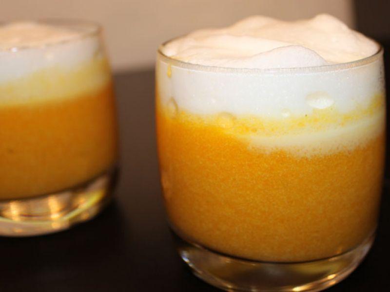 Orangen-Karotten Süppchen